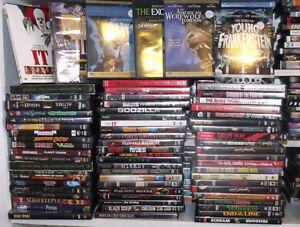 Horror movies, Creepy Cult classics DVD's