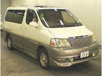 FRESH IMPORT TOP OF THE RANGE TOYOTA GRAND HIACE GRANVIA ALPHARD V6 PETROL AUTO