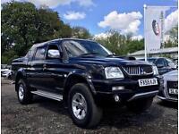 2005 55 MITSUBISHI L200 2.5TD 4WD TROJAN PICK UP 114 BHP NO VAT
