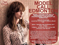 **MODEL CALL** Wella Professionals and Kadus Professional