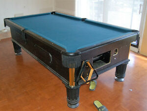 Pool Table One Piece Slate Table top