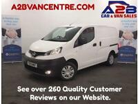 2015 15 NISSAN NV200 1.5 DCI ACENTA 110 BHP ONE OWNER , LOW MILEAGE , FULL SERVI