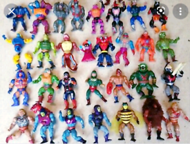 ***WANTED*** Vintage Action Figures WWF/HE-MAN etc Anything Considered
