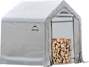 WOOD SHED / Firewood Seasoning Shed 5'x3.5'x5' / NEW
