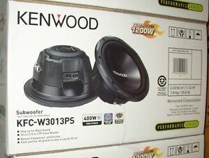 """KENWOOD 12"""" 4 OHM 1200W SUBWOOFER"""