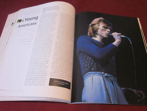 DAVID BOWIE - CHANGES 1970-1980 Book *Out of Print* 30 yrs Old Kitchener / Waterloo Kitchener Area image 3