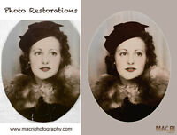 Photo Restorations and Scanning
