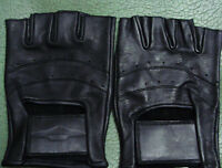 Different Style Leather Gloves Size L