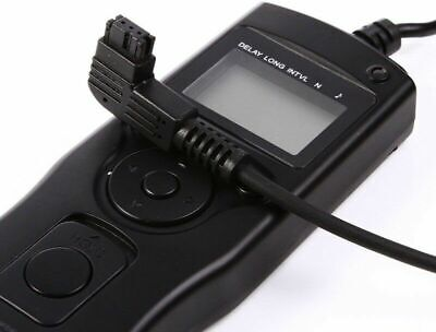Time Lapse Intervalometer Remote Timer Shutter F SONY ALPHA A550 A580 A900 A800