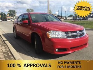 2014 Dodge Avenger SXT   ONLY  $66.82 A WEEK + TAX OAC Windsor Region Ontario image 3