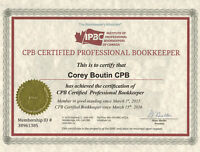 Contract: Part-Time Certified Professional Bookkeeper