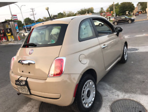 2012 FIAT IMPECCABLE FULL EQUIPPED LEATHER + WINTER TIRES WOW