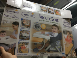 Brand New baby portable hook- on seat booster