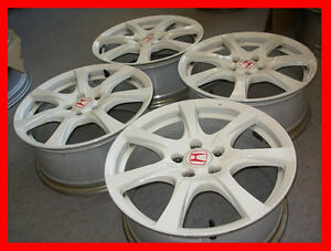"Rare JDM Honda Civic Type R FD2 rims wheels 18"" Enkei ILX volk"