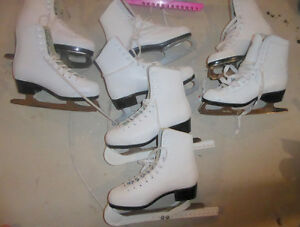Figure skates sizes 12,13, 1, 2 and 3 $12 per pair, size 5 $ 20