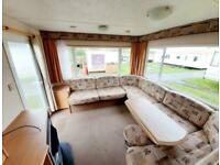 Static caravan for sale with heating west coast Scotland Ayrshire near Glasgow