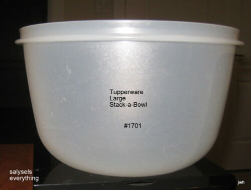 Tupperware~Replacement Large STACK-A-BOWL~#1701~Pre owned~VGUC