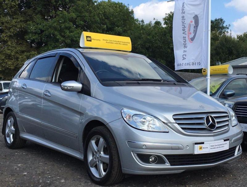 2006 mercedes benz b class 1 5 b150 se autotronic 5dr in leicester leicestershire gumtree. Black Bedroom Furniture Sets. Home Design Ideas
