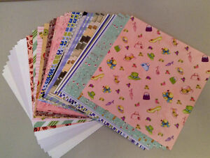 Scrapbooking Pages, Pocket Layouts, Scissors & Misc.