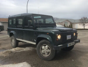 2001 Land Rover Defender 110 County Wagon