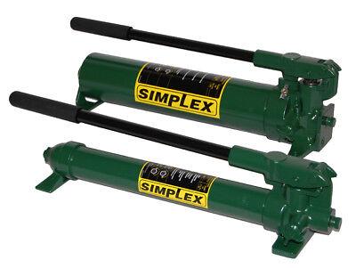 P42 Simplex 2 Speed Hand Pump 1st 200psi 2nd 10000 Psi Oil Capacity 45cu.in.
