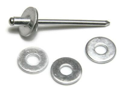 Steel Pop Rivet Washers 316 Dia. 6 Blind Rivet Back Up Washers - Qty 100