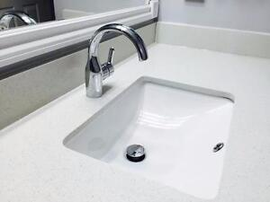 QUARTZ COUNTERTOPS, BAR TOPS, ISLANDS, VANITIES ON SALES!!! FREE SINK!