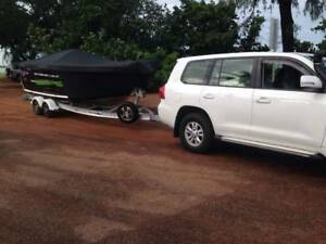 Quintrex Legend 6.10m with 200Hp Yamaha 4 Stroke -2017 Model
