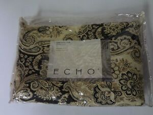 Comforter Cover Twin Size with Button Closure by Echo Bedding$80