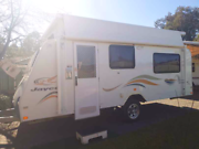 Jayco discovery 2008 pop top 17ft white caravan REDUCED $19800 Elizabeth Playford Area Preview