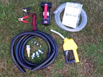 Pump, diesel, 12/24 volt