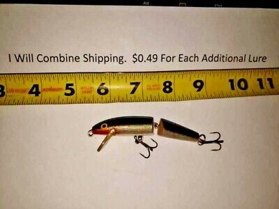 Lot Of 5 New In Box Rapala Jointed J-7 FIRE TIGER Crankbaits Lure