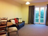 Marston, furnished 2 bed flat, avail immediately to prof. couple/mature students, near JR & Brookes