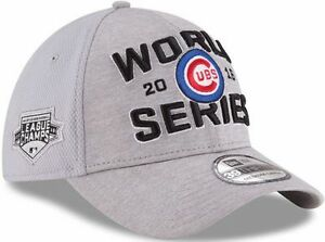 Chicago Cubs Era 2016 World Series Champions Locker Room Hat Cap 39thirty a748016db88