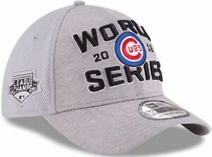 a2855c740cb Chicago Cubs Era 2016 World Series Champions Locker Room Hat Cap 39thirty