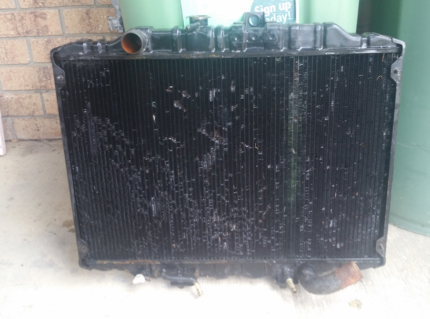 L300 delica 4d56 3 core radiator and snorkel.