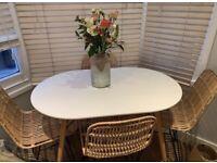 4 seat scandi dining table RRP £179.99