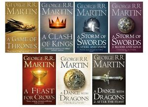 A-Game-of-Thrones-Song-of-Ice-and-Fire-New-The-Complete-Box-Set-of-All-7-Books