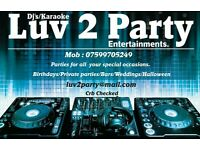 Mobile Party Disco/Dj Full package