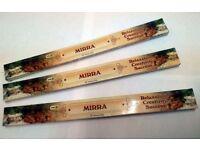 3x Mirra Myrrh Incense sticks £2.95