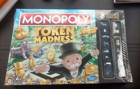 New Hasbro (Fun) Monopoly Token Madness Game