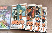Naruto books 1-4 + land of snow movie