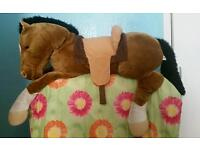 Giant Cuddly Horse