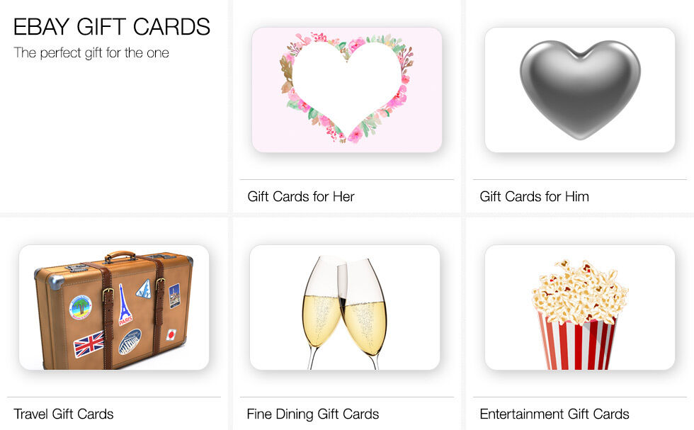 eBay Gift Cards | The perfect gift for the one