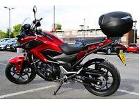 Quick Sale 2014 Honda NC750 XA-E Adventure Touring Road Bike Motorcycle Red Full service
