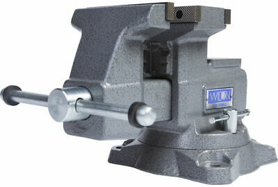 Wilton 28821 Reversible Bench Vise 5-12 Jaw Width With 360 Swivel Base