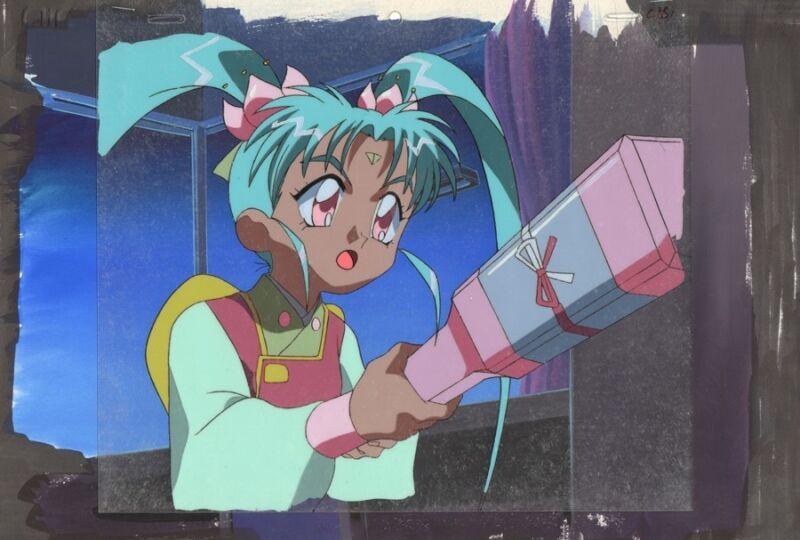 Anime Cel Tenchi #341