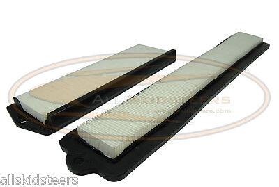 For Bobcat Heater Air Filter Kit 2 Skid Steer T110 T140 T180 T190 T250 T300 T320