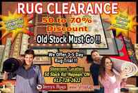 Area Rug Clearance Event !!!