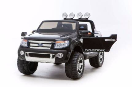 Licensed Ford Ranger Electric Ride On Car -Truck With rc black